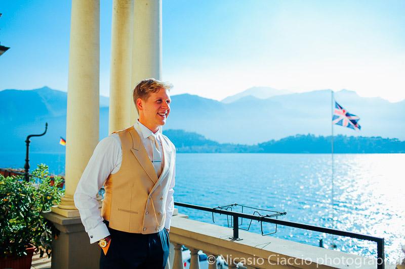 Sposo, vista sul Lago di Como