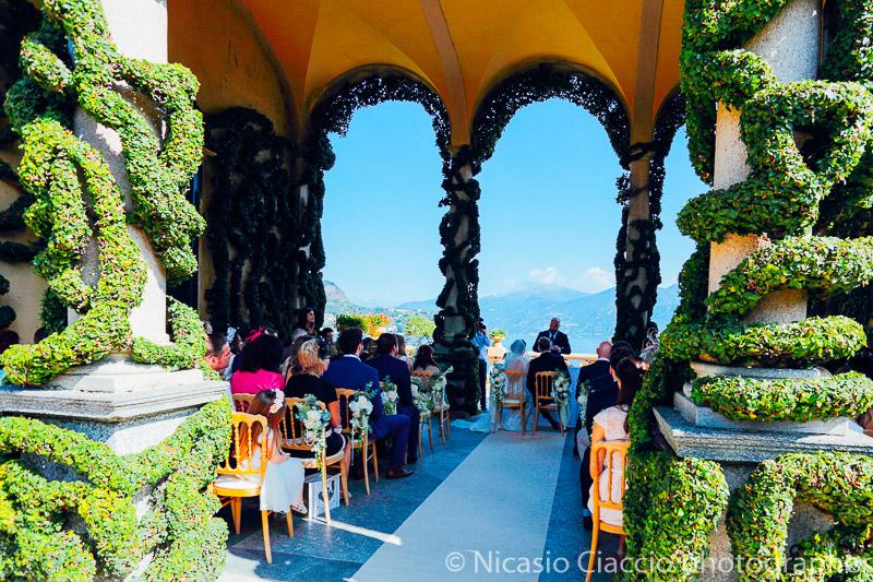 Cerimonia Villa del Balbianello Matrimonio Lago di Como (12)