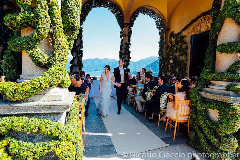 a481a9274f2f ... Fine cerimonia a Villa del Balbianello Matrimonio Lago di Como (13) ...