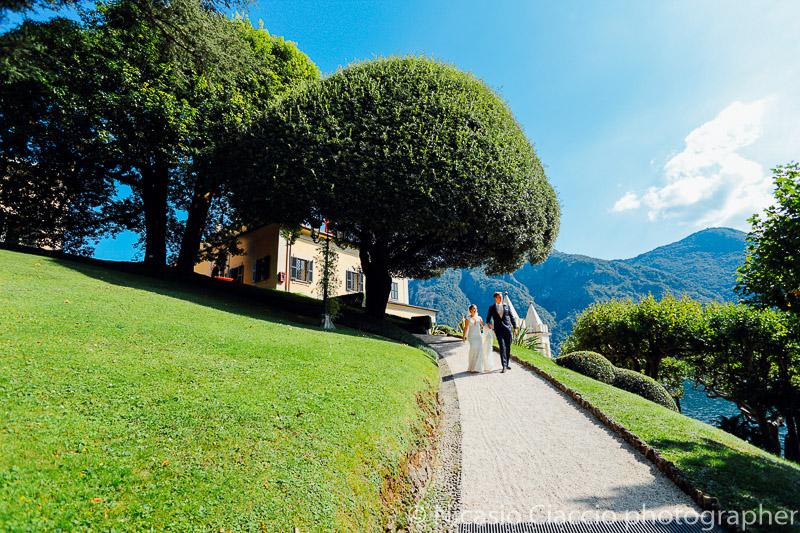Sposi a Villa del Balbianello - Matrimonio Lago di Como (22)