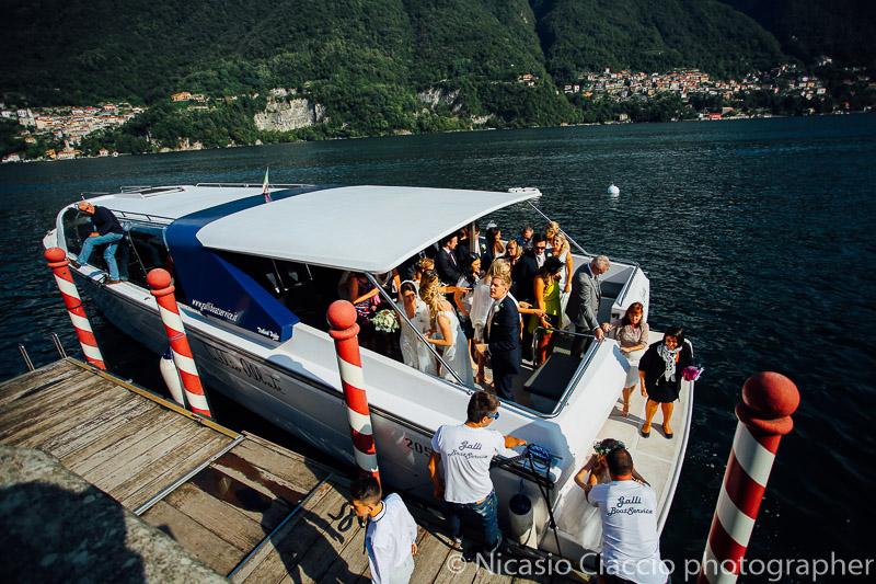 Arrivo a villa Regina Teodolinda - Matrimonio Lago di Como (25)