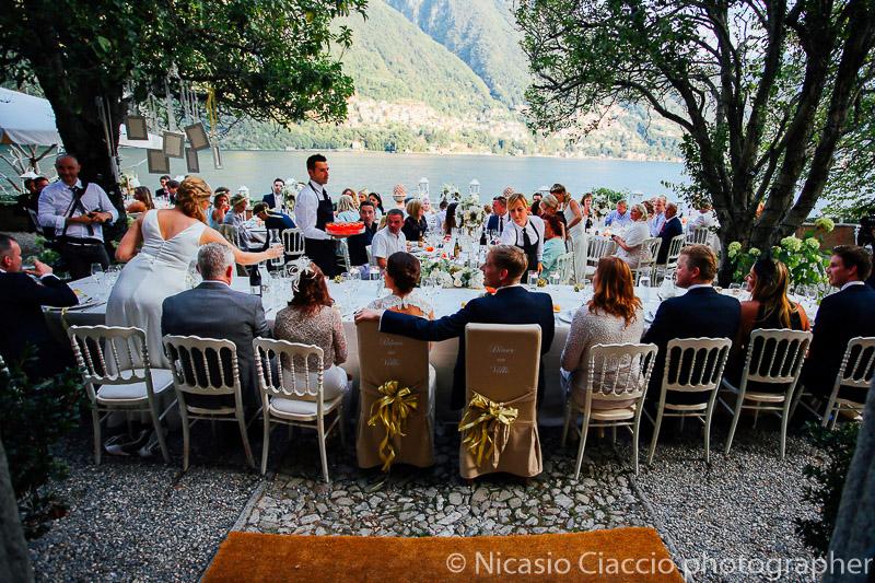 Banchetto matrimoniale a villa regina Teodolinda - Matrimonio Lago di Como (29)