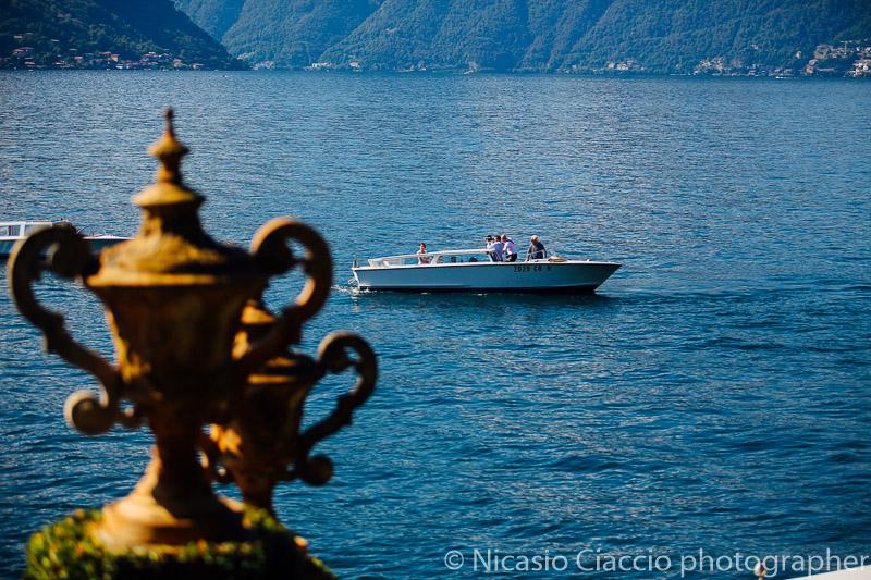 La sposa in arrivo a villa del balbianello Lago di Como (4)