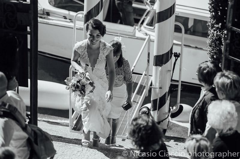 Arrivo sposa al Villa del Balbaniello - Matrimonio Lago di Como (5)
