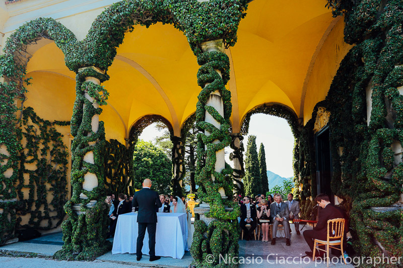 Wedding Como Lake in villa Balbaniello