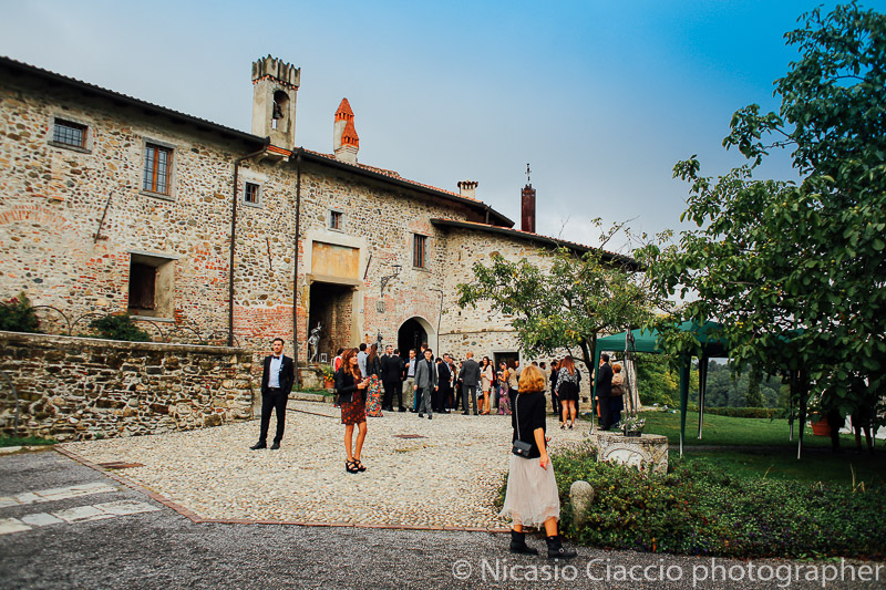 matrimonio castello cernusco lombardone poco prima delle nozze