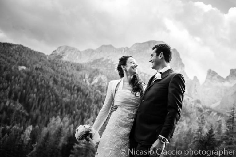 Sposarsi è un po' come stare a 8000 metri, o forse più
