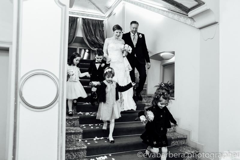 Arrivo sposa. Foto matrimonio villa cavenago (006)