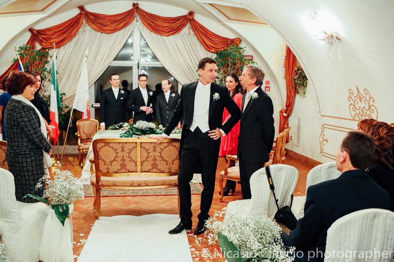 Attesa Sposo. Foto matrimonio Villa Cavenago (007)
