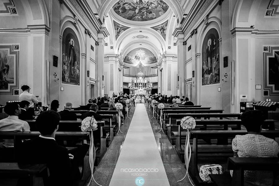 chiesa di santo stefano Segrate, interno