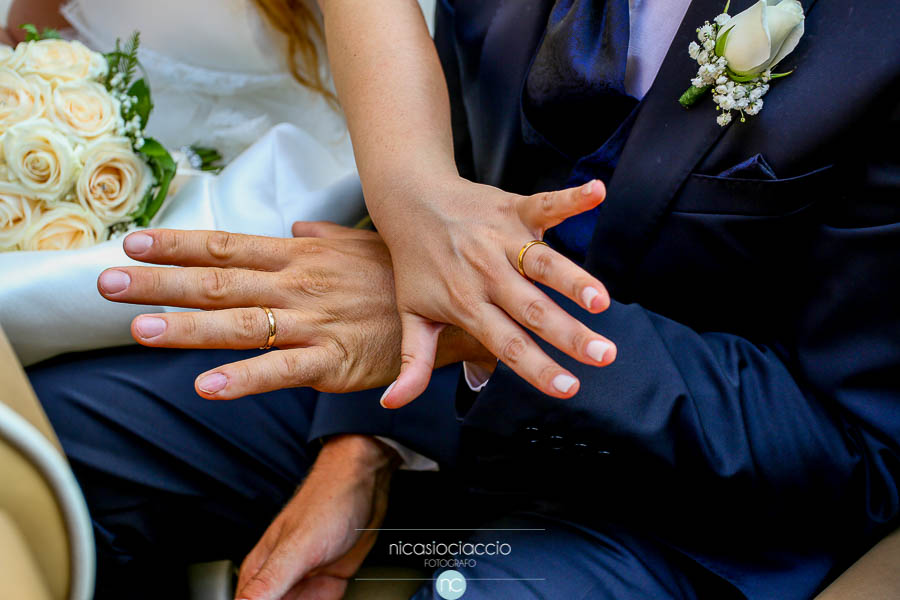 dettaglio fedi sposi