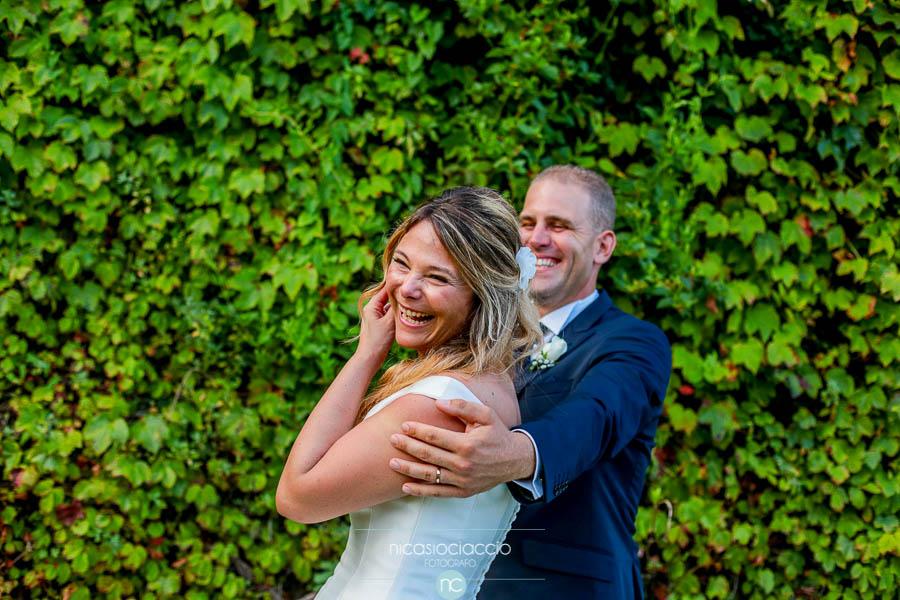 Ritratto sposi presso villa Orsini Colonna