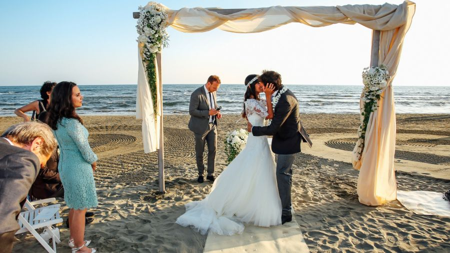 matrimonio in spiaggia in versilia
