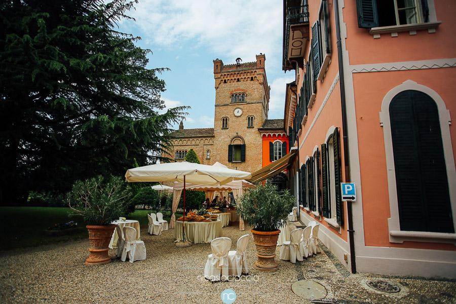 Villa Castello di Torrazzetta, matirmonio a Borgo Priolo